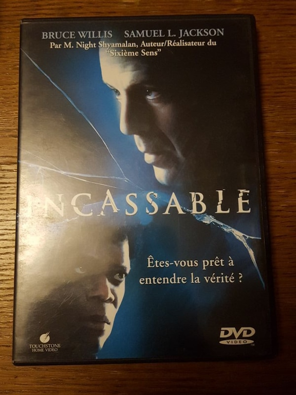 Film DVD incassable