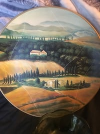 Decorative wall plates and candy dishes Alpine, 91901