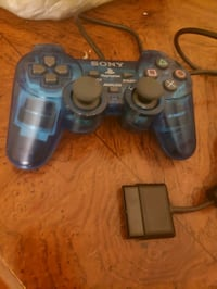 PS2 controller. In good shape, not wireless, blue