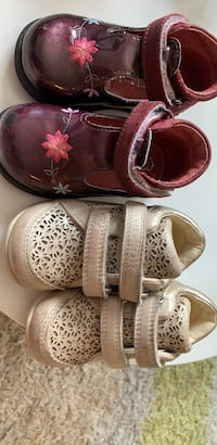 Geox and Melania (made in Italy) toddler shoes!