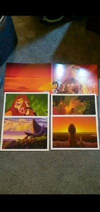 The Lion King Lithographs