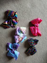 Lot of Jojo Siwa hair bows