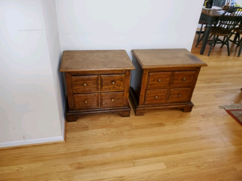 Antique Wooden Night Stands  3