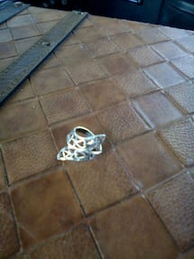 old silver ring .925