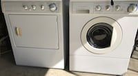 Frigidaire white washer and dryer set front load energy saver