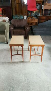 pair of vintage side tables  Caledon, L7C 1Y9