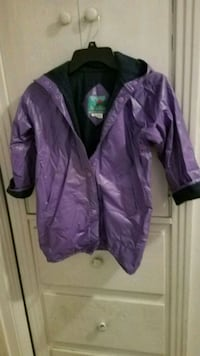 Girl's Raincoat Size 6X $6 Campbell, 95008