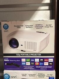 720p Portable Projector New Orleans
