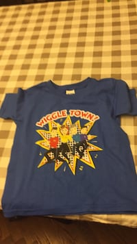 Brand new Wiggles shirt. Purchased for my child put away and I just found it. Only $15. Size 5T Vaughan, L4J 5L7
