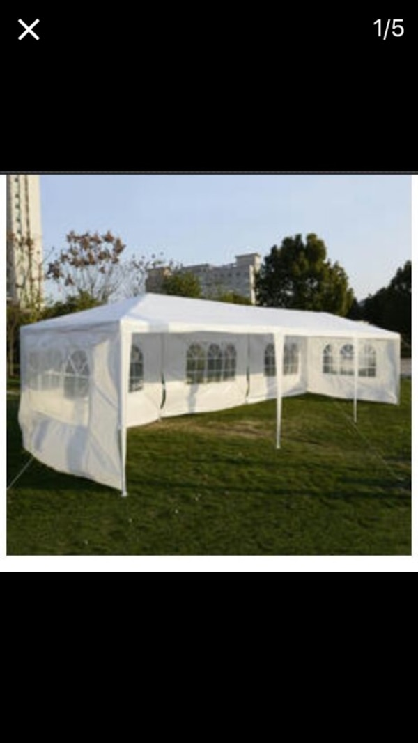 Used Party Tents For Sale >> Used Party Tents Carpas 10x30 New In Box For Sale In Alvin Letgo