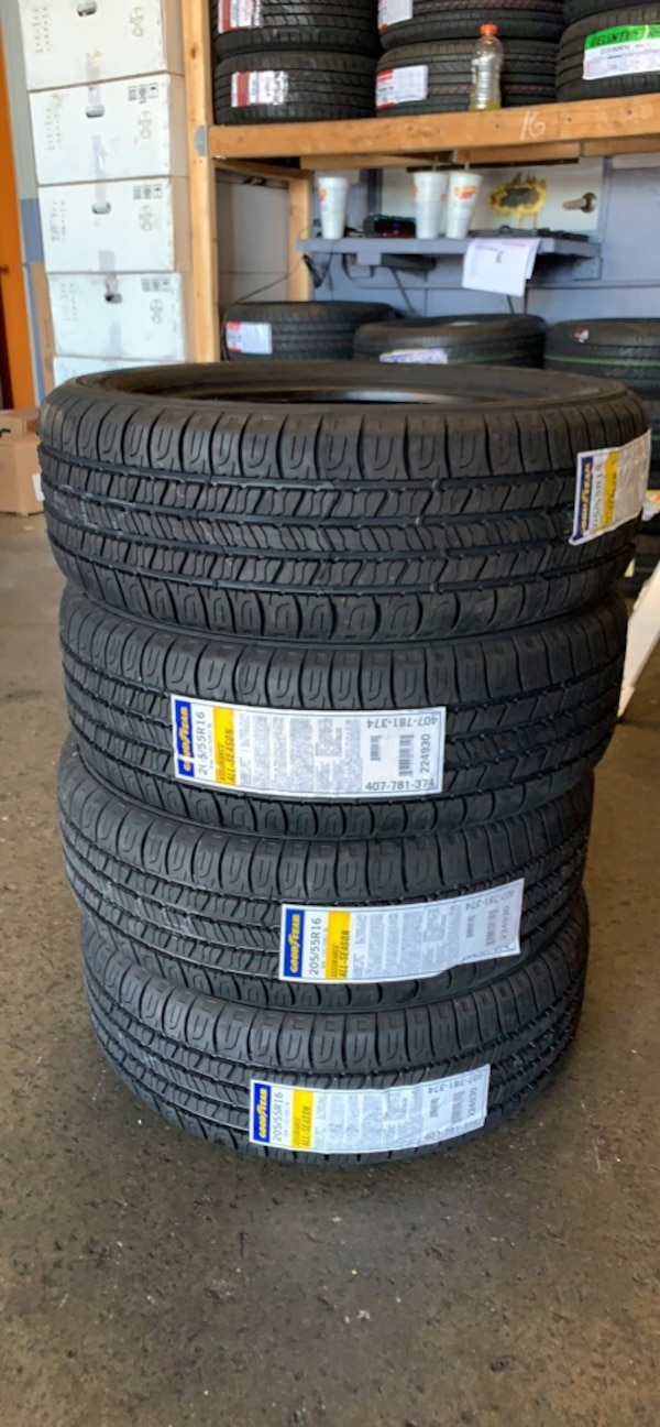 Tires 205 55R16 >> New Tire 205 55r16 Goodyear Assurance All Season Set Of 4 Tires Free Install With Warranty