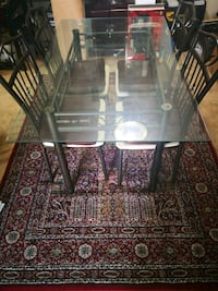 Dining table set W/ chairs & FREE rug Mount Rainier, 20712