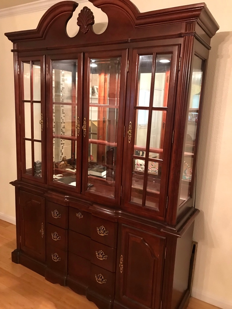 used and new china cabinet in richardson letgo rh us letgo com