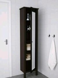 black and white wooden cabinet El Paso, 79905