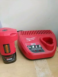 Milwaukee Red Lithium Battery And Charger Toronto, M6C 2K8