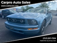 Ford Mustang 2007 Chesapeake