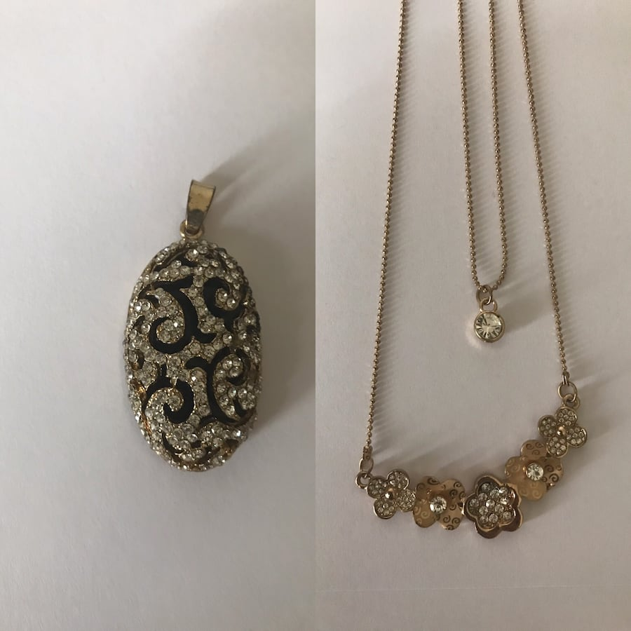 Necklace and a locket