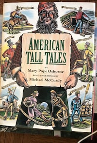 "Book American Tall Tales 11""x10"""" New Chicago, 60613"