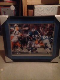 Barry Sanders autographed Lions picture/photo Greeley, 80634