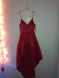 High low red homecoming dress Trinity, 34655