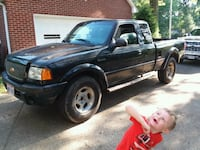 black Ford F-150 extra cab pickup truck Mogadore, 44260