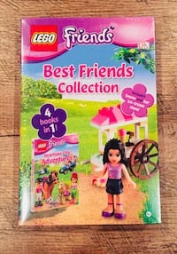 New Lego Best Friends Collection 4 Books in 1 Emma Mini Doll & Ice Cream Stand and Emma mini doll Newburgh, 47630