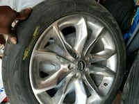 "4. Ford explorer 20"" Mags+Tires Montreal, H1R 3G2"