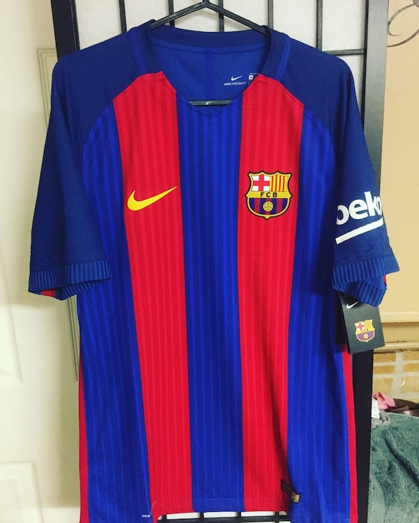 best sneakers 249df 5e64c Barcelona Home Jersey 2016 2017 size M
