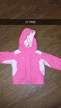 pink and white zip-up hoodie London
