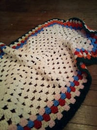 blue, red, and white knitted textile Manitowoc, 54220
