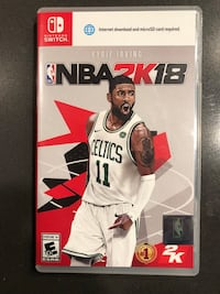 NBA 2K18 Nintendo Switch Palm Harbor, 34683