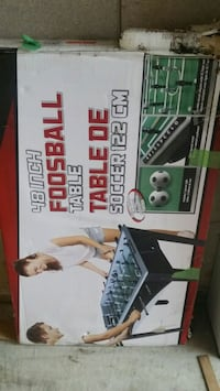 Foos ball,  new in box  48 inches: it's available! Milton, L9T 7Y5