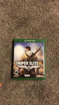 Xbox one Sniper Elite 3 case Knoxville, 37932