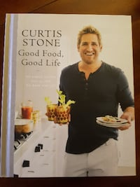 Signed Curtis Stone Cookbook: Good Food, Good Life Toronto