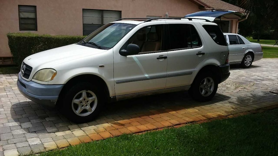 Used 1998 mercedes benz ml320 in west palm beach for Mercedes benz west palm beach used