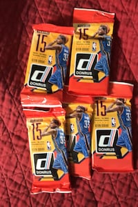 2015-2016 jumbo packs of donruss basketball cards Beltsville, 20705