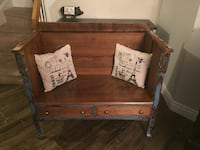 Shabby chic bench one of a kind Mississauga, L5N