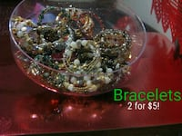 Jewellery bracelet and necklaces ***2 for $5!***** Vancouver, V5Z 4M3