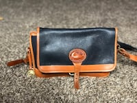 Blue and brown leather purse Las Vegas, 89122