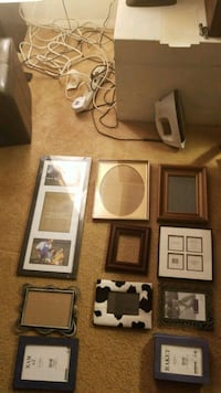 white and black photo frames Falls Church, 22042