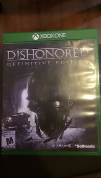 Dishonored Xbox One game Mississauga, L4X 1R5