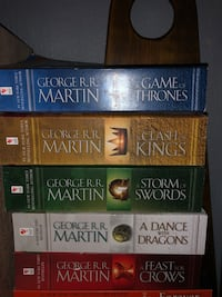 Game of Thrones book set Milwaukee, 53215