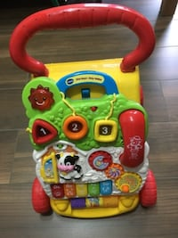 toddler's multicolored Fisher-Price learning walker LONDON