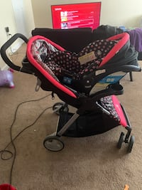 Minnie Mouse car seat and stroller Oxon Hill, 20745