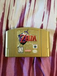 Zelda Ocrania of time Gold edition for Nintendo 64 Brooklyn, 11235