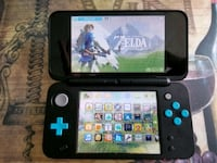 Modded New Nintendo 2DS XL w/ Games + 64GB SD Card Ajax, L1T 3S8