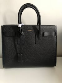 Saint laurent black grained leather Montréal, H2S 2L8