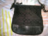 black monogrammed Coach hobo bag Western Springs, 60558