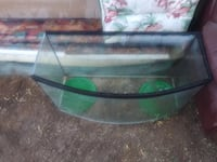black framed glass top coffee table Tucson