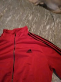 red and black Adidas zip-up jacket Surrey, V3T 5X1